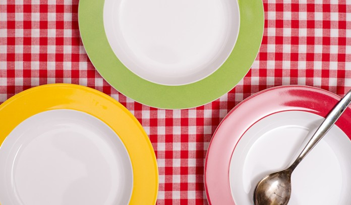 Choose The Right Colored Plates To Lose Weight