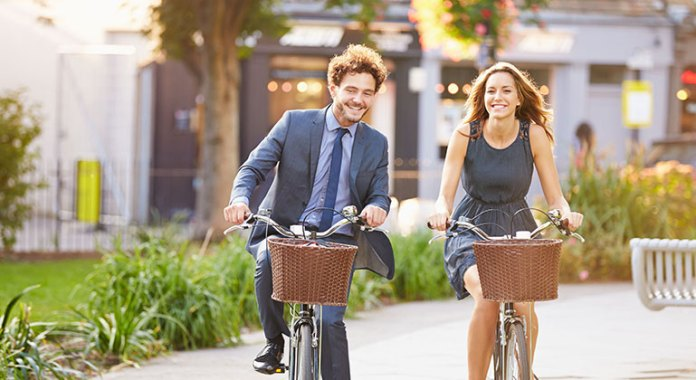 Cycling To Work Is A Good Way To Stay Active