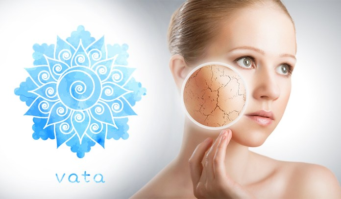 Vata Skin: Dry and delicate