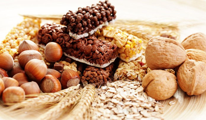 Fiber helps reduce excess triglycerides resulting from a high carb diet