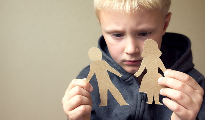 encourage your child to open up during divorce