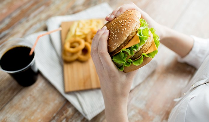 Fast-foods are linked to inflammation and can thus, cause acne.