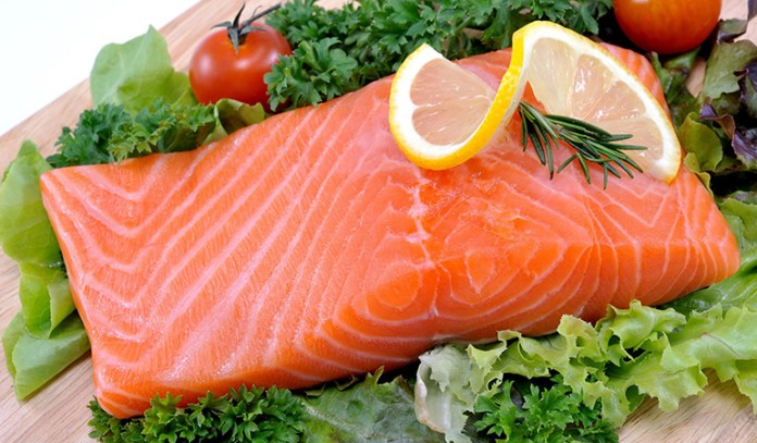 Fatty fish is rich in healthy omega fatty acids that help prevent acne and inflammation.