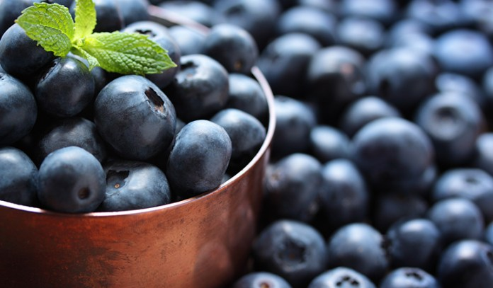 blue fruits and vegetables for the fifth chakra