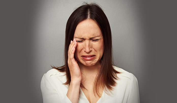 Mood swings caused by PMS can make you feel over-emotional.