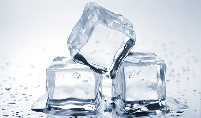 Ice Cubes Soothe Puffiness Around Eyes