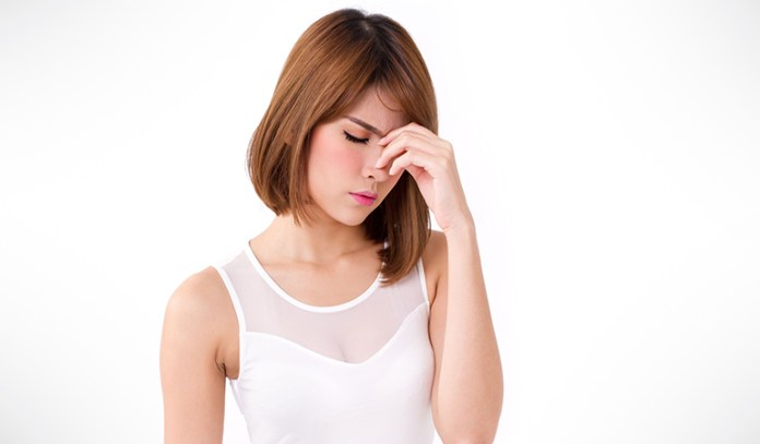 PMS can make you irritable and stressed out.