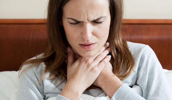 Avoid ACV if you have throat infection