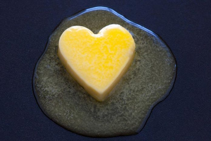 high intake of saturated fats can lead to heart disease