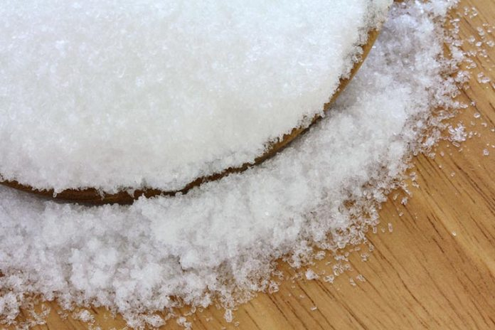 Magnesium chloride is more suitable for this preparation