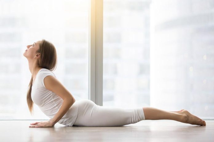 Cobra Pose Relaxes Your Lower Back And Shoulders
