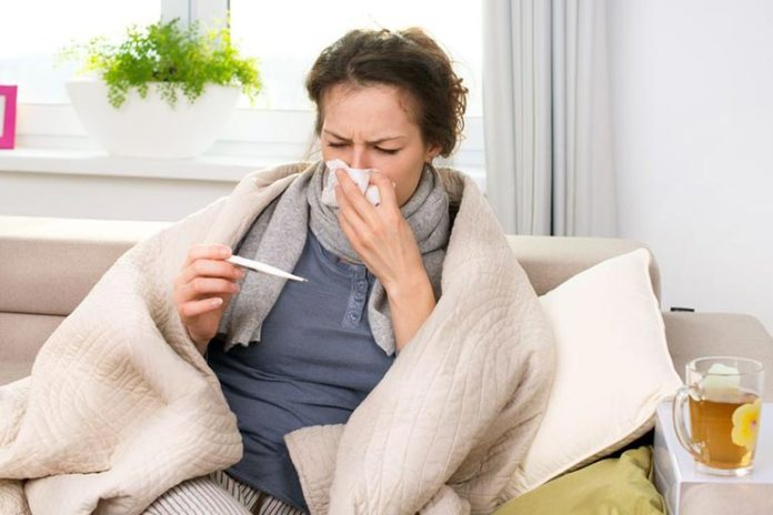 Baking soda solution treats cold and flu