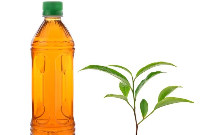 Bottled green tea contains as much water and sugar as you'd find in soda
