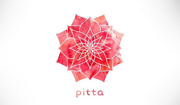 Pitta dosha is ruled by the elements fire and water