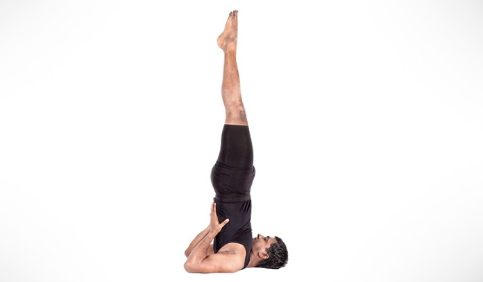 This pose helps improve blood circulation, helping brain function.
