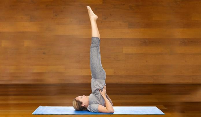 Sarvangasana Is Good Yoga Pose For Preventing Thyroid