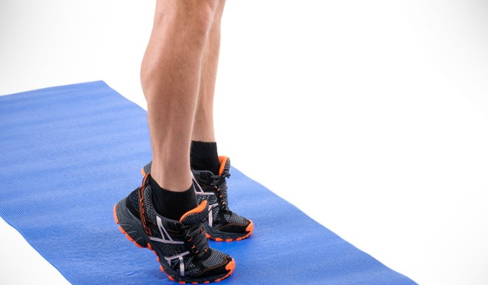 Perform this movement to get good blood flow to the calves and also performing it in the right way.