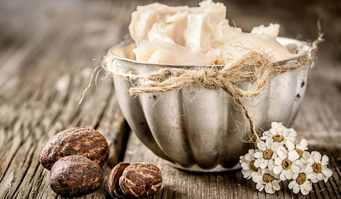 Shea butter, used in hair restoration processes, is also effective for eyelash growth.