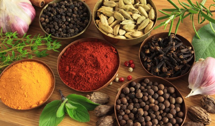 pepper, turmeric, and other spices are good for health