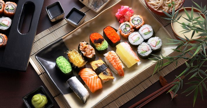 Is eating sushi healthy for you