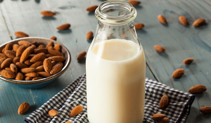 benefits of almond milk how to make and healthiest option to buy