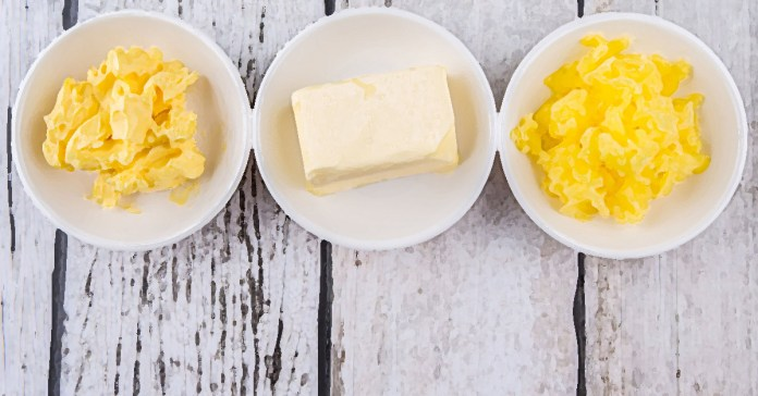 different types of saturated fats
