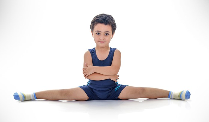 On how to perform the v splits, it also increases the stretch reflex of the groin area and hips
