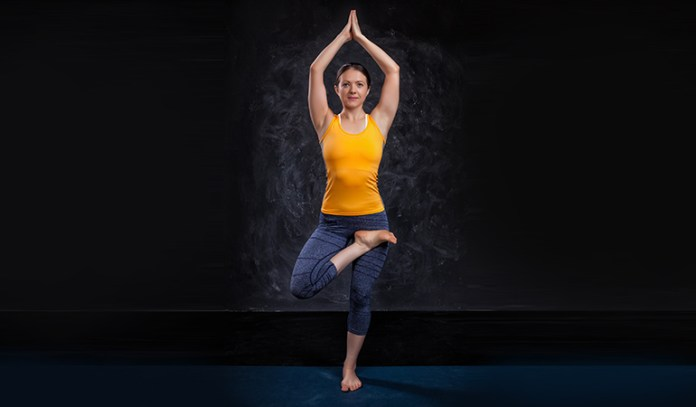 This pose rejuvenates and provides concentration