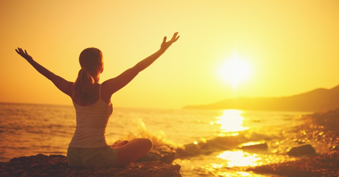 Yoga helps in relieving a person from stress