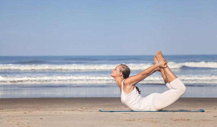 Dhanurasana (Bow pose) is beneficial to balance pitta dosha