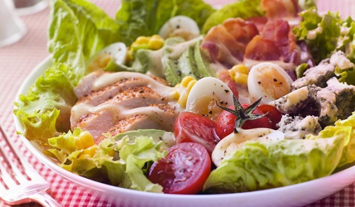 Look For A Salad Or Wrap)