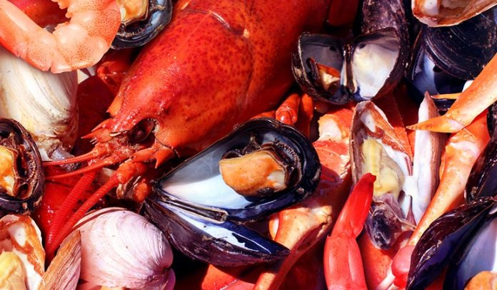 Seafood Contains Harmful Germs)