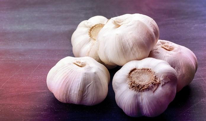 Garlic is a powerful antioxidant
