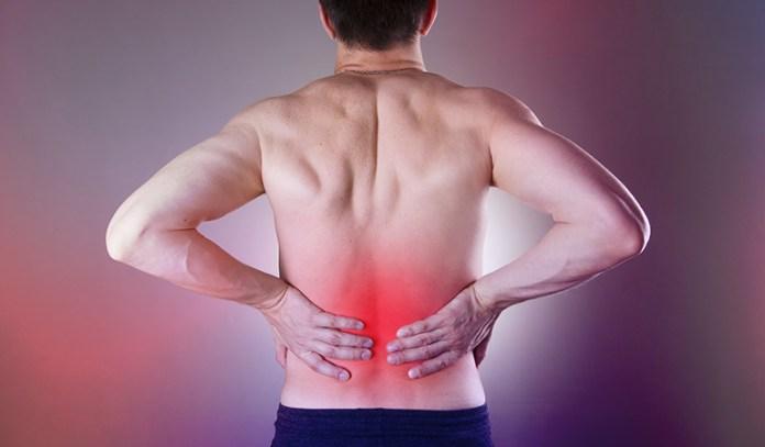 Back pain is a symptom