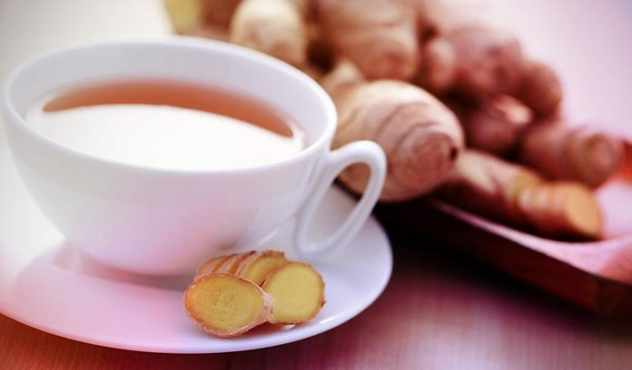 Boil Ginger Root With Pepper)