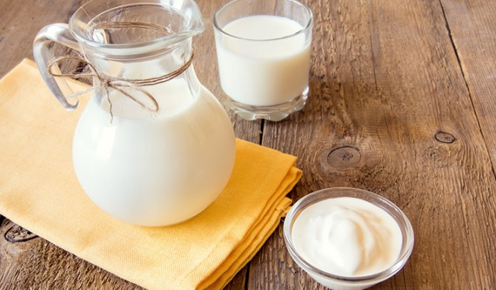 cream and milk to treat split ends