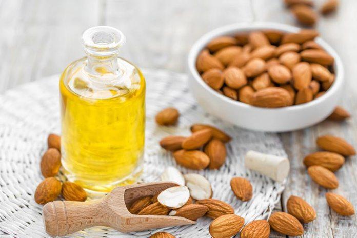 Almond oil helps improve elasticity