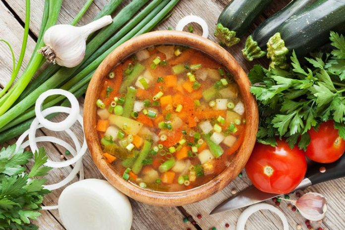 Vegetable Soup Is Packed With Nutrients