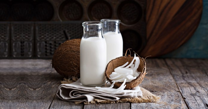 Coconut milk can help with weight gain because of high calorie and carb levels