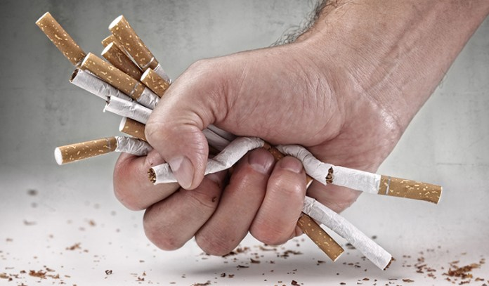 Smoking causes erectile dysfunction and can reduce erection size