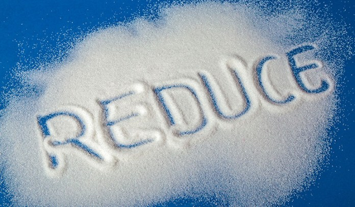 Reduce the sugar intake to cut down on stress