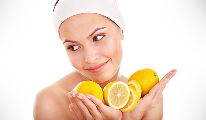 lemon peel detoxifies and rejuvenates skin