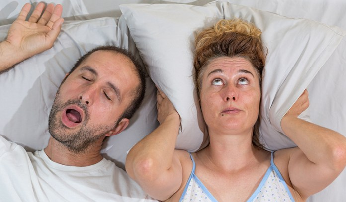 Wrong sleeping posture can cause sleep apnea and snoring