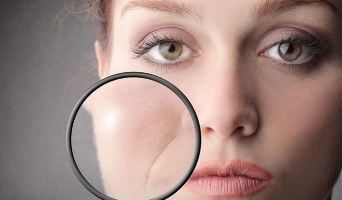 Use low pH products for wrinkly skin