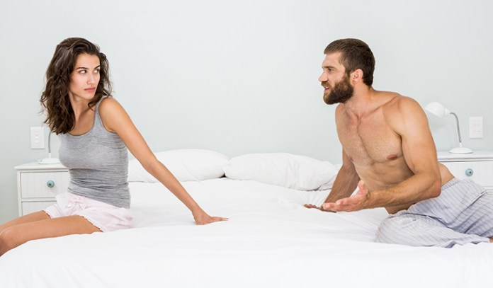 Avoid getting too technical about what you want in bed, or your partner might start feeling frustrated with you.
