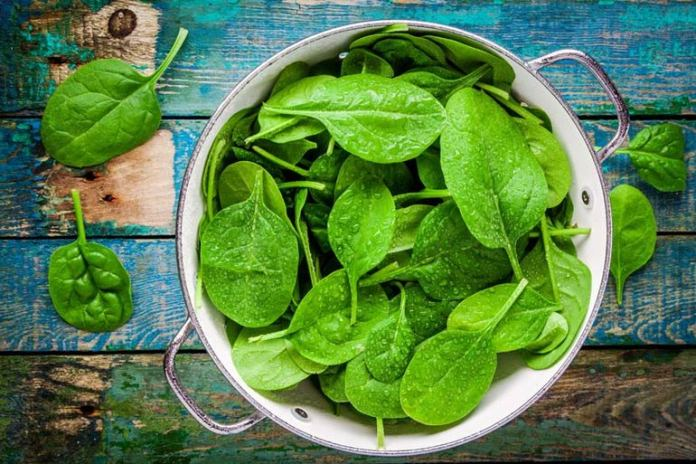 Spinach can help with concentration