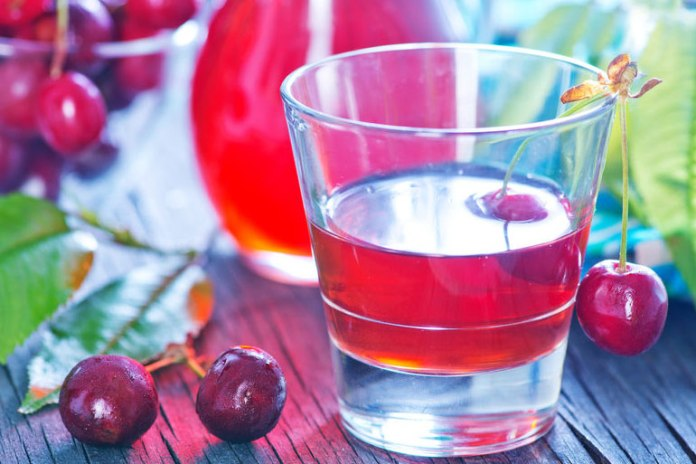 Cherry and aloe vera drink induces sleep and aids weight loss