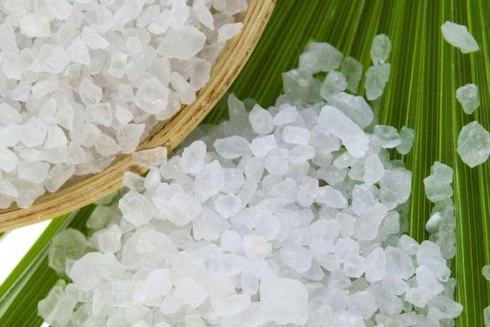 Salt helps with uneven skin tone