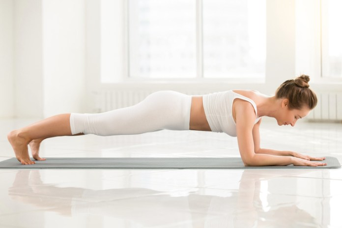 Plank Pose Supports Spine And Back