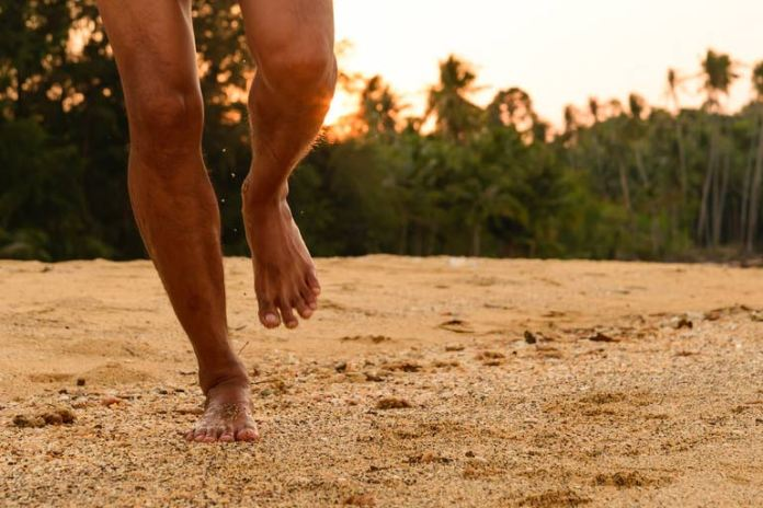 Athletic activities can cause minor injuries to the toes and turn them black